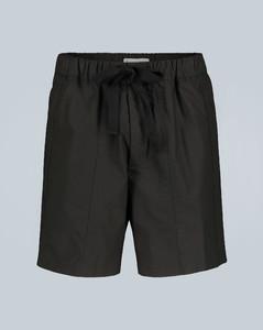 棉质阔腿短裤