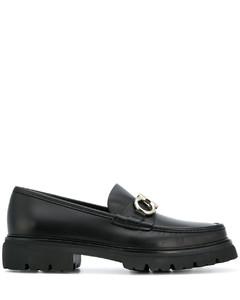 Gancini小牛皮乐福鞋