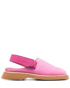 Men's Moto-Cab Nylon Slide Sandals - Navy/Tan