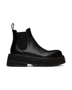 Capri Neoprene Slide Sandals - Black