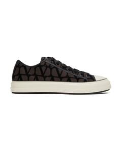 Cross slip-on sneakers
