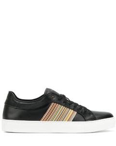 侧条纹板鞋