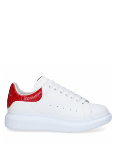 Low-Top Sneakers LARRY calfskin Logo black