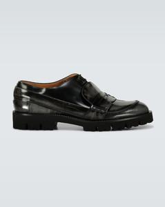 Fusion磨砂皮革鞋履