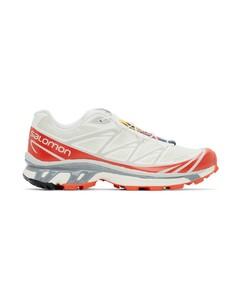灰白色&红色XT-6 ADV限量版运动鞋