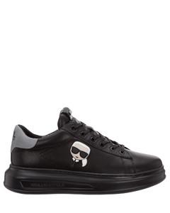 Rubber-sole suede desert boots