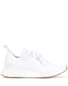 Rubber-sole suede desert boots