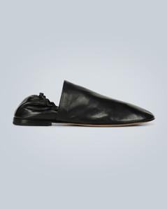 皮革乐福鞋