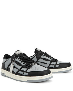 Dubai black leather Oxford shoes