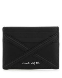 黑色麦秆粒面护照套
