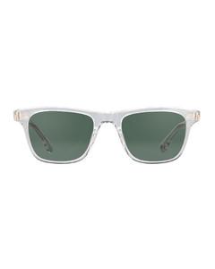 海军蓝&红色GG条纹手套