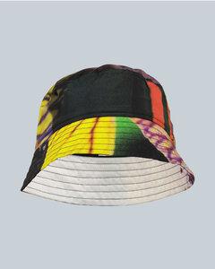 印花渔夫帽