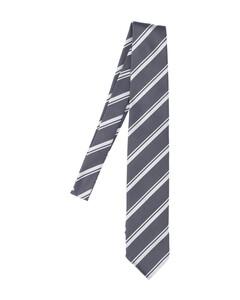Logo Print Round Leather Zip Keychain