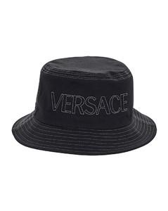 黑色Graffiti渔夫帽