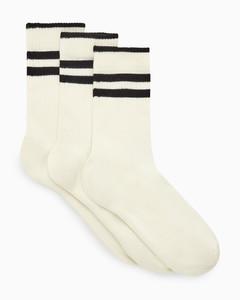 十字架logo细节厚圈戒指