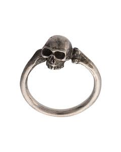 骷髅纯银戒指