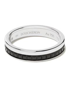 Quatre Black Edition 18K白金结婚戒指