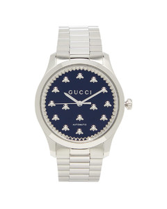 G-Timeless stainless-steel watch