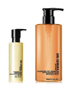 Cleansing Oil Shampoo for Dry Scalp (400ml) and Conditioner (250ml)